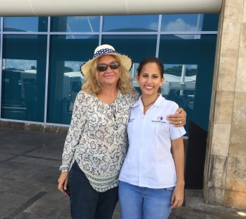 CANCUN FACELIFT TESTIMONIAL FROM ARIZONA, USA AT THE AIRPORT