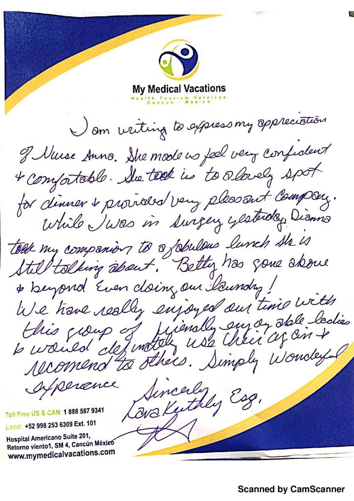 Medical Vacations Tourism Mexico Cancun Dental Treatment Testimonial from New Mexico, USA 0